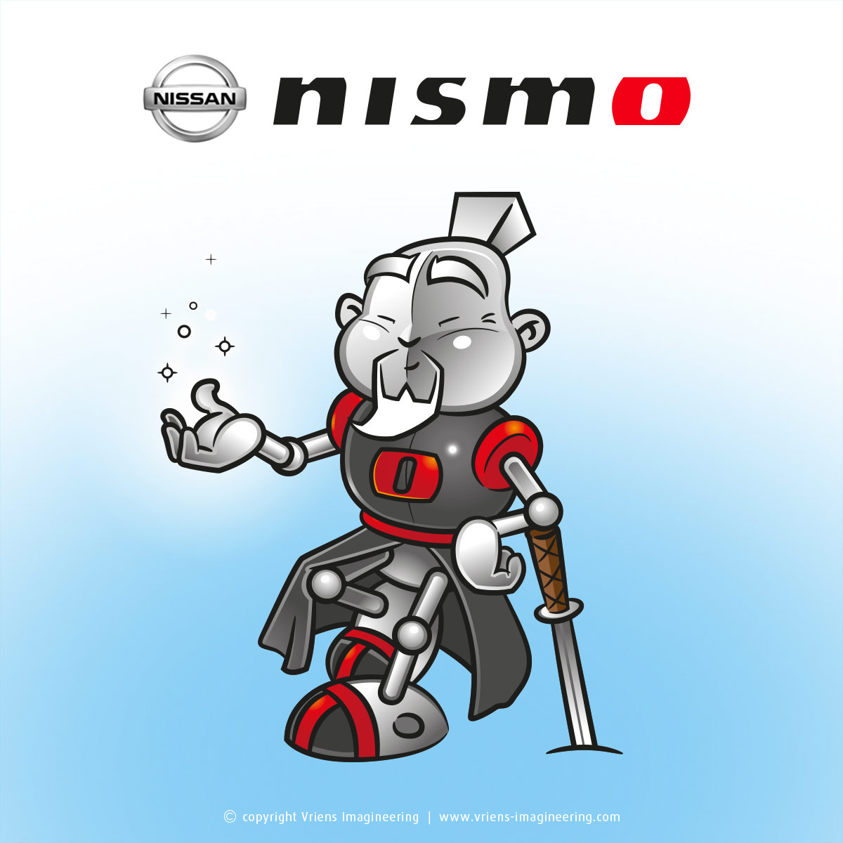 character mascotte Nismo
