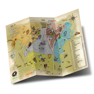 Geïllustreerde plattegrond